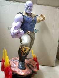 [Divertido] talla grande 1/4 escala 60cm los Vengadores 3 Hulk Thanos figura de acción estatua juguete de modelo de colección niños regalo para adultos