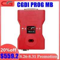 CGDI Prog MB para la llave de coche Benz añadir más rápido para el programador de llave Benz compatible con todas las llaves perdidas más REPARACIÓN DE ELV adaptador