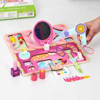 Rompecabezas de madera para niños, simulación de frutas, corte experto para ver la forma de juguetes de cocina, Educación Temprana, 3 años de edad