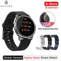 Haylou montre intelligente solaire Version mondiale IP68 étanche Smartwatch femmes hommes montres pour Android iOS Haylou LS05 de Xiaomi