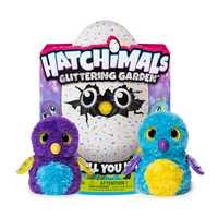 Original SPIN MASTER 17X11 Hatchimals jouets cadeaux de vacances pour enfants Smart électronique animal en peluche jouet pour enfants cadeau d'anniversaire