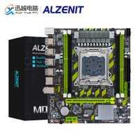 ALZENIT X79G placa base Intel X79 LGA 2011 Xeon E5 apoyo ECC REG DDR3 64GB M.2 NVME USB2.0 SATA3 M-ATX Placa de servidor