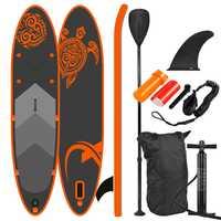 Tabla de Paddle SUP de pie, tabla de surf, tabla de surf, bolsa, paleta, aleta, bomba de aire, kit de reparación, correa de pie
