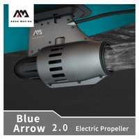 AQUA MARINA bateau à rames hélice électrique 4-6km/h Portable 12V moteur électrique à commande à distance pagaie/canots