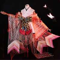 Juego Onmyoji SSR Shiranui buzo Ali Kimono Cosplay disfraz uniforme vestido Halloween fiesta disfraces de lujo para las mujeres envío gratis