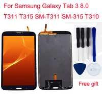 Pour Samsung Galaxy Tab 3 8.0 T311 T315 SM-T311 SM-315 T310 LCD écran tactile numériseur LCD panneau d'affichage moniteur assemblée