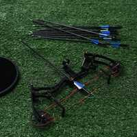 Puissant arc classique 35-40lbs professionnel chasse arc tir à l'arc costume pour la chasse en plein air tir 10 pièces flèches accessoires