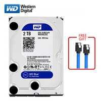 WD marca azul 2TB disco duro interno 3,5