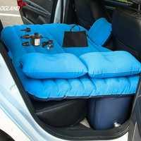 OGLAND voiture Air gonflable voyage matelas lit pour voiture siège arrière matelas multifonctionnel canapé oreiller en plein Air Camping tapis coussin