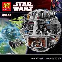 35000 Star Wars blocs de construction briques mort Star Wars TIE Fighter Compatible LegoINGlys 10188 jouets éducatifs pour enfants cadeaux