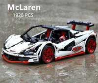 LegoEDS Technic MOC McLaren P1 Super Hypercar Veneno Roadster modèle Kit blocs de construction Compatible 42056 APP RC voiture briques jouets