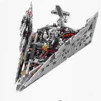 10901 modelo de destructor de estrellas de primer orden bloques de construcción juguetes compatibles con Legoing Star Wars 75190