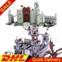 LP 16017 Kits château LP 16013 seigneur des anneaux bataille d'helm bloc de construction profond legaoings jouets 7094 9474