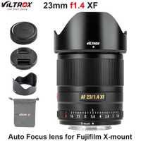 VILTROX 23mm f1.4 XF objectif à mise au point automatique APS-C objectif Compact à grande ouverture pour appareil photo Fujifilm x-mount X-T3 X20 T30 X-T20 X-T100