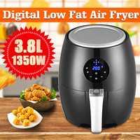 Friteuse à Air électrique friteuse 1350W 3.8L écran tactile LED numérique minuterie de contrôle de température friteuse à Air électrique