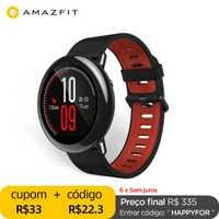 Original Amazfit Pace Smartwatch Amazfit montre intelligente Bluetooth GPS Information pousser moniteur Intelligent de fréquence cardiaque