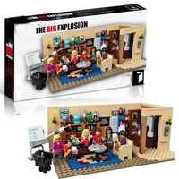 Nouveau classique série TV américain drame amis BigS Bang théorie café modèle bloc de construction briques legoinglys 21302 jouet cadeau enfants