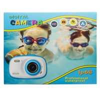 Mini cámara para niños juguetes educativos para niños regalos para bebés Regalo de Cumpleaños impermeable IP68 con juegos cámara de vídeo 1080P