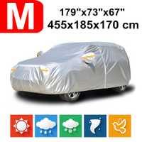 455x185x170 universel SUV 190T imperméable bâches de voiture poussière pluie neige Protection UV pour Toyota C-HR Prius Honda BR-V HRV CRV Vezel