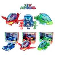 Máscaras de PJ Juguete Original para fiesta, Juguete para coche, máscara PJ, Catboy Owlette Gekko, figuras de Anime, juguetes para niños, regalos de cumpleaños, 2S21