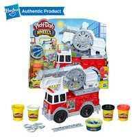 Hasbro play-doh roues jouet de camion de pompier avec 5 couleurs Non toxiques, y compris jouer Doh eau composé jouets de sauvetage incendie