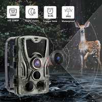 HC801A Caméra De Piste de Chasse Caméra Avec Vision Nocturne Extérieure Activée Par Mouvement Caméra Déclencheur de Dépistage de La Faune