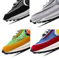 Diseñador Sacai LDV Waffle Daybreak zapatillas deportivas para hombre para mujer diseñador Tripe S deportes Running zapatos tamaño Eur 36-45