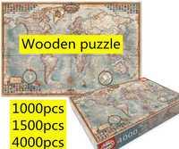 4000 pièces carte du monde Administration carte mosaïque Reynolds Puzzle assembler Educa carte du monde Puzzles jouets