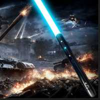 Nouveau 21Types 1 pièces Cosplay sabre laser avec son léger sabre alliage Skywalker épée 100 cm jouet cadeau garçon cadeau d'anniversaire