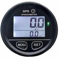 Velocímetro Digital GPS para UTV motocicleta barco marino impermeable IP65 accesorio útil duradero