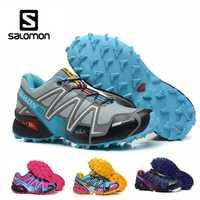 Salomon Speedcross 3 CS Sports de plein air femme chaussures respirant athlétisme Salomon femme Jogging course vitesse cross escrime chaussures
