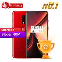 Global Rom OnePlus 7 8GB RAM 256GB ROM Smartphone Snapdragon 855 6.41 pouces optique AMOLED affichage empreinte digitale 48MP caméras UFS 3.0