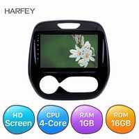 Harsey 9 pulgadas Car Audio Android 8,1 para Renault CLIO capture 2011-2016 Samsung QM3 Manual A/C GPS navegación pantalla táctil Unidad Principal