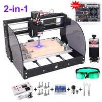 CNC 3018 Pro Max Laser graveur GRBL bricolage 3 axes PBC fraisage Laser gravure Machine bois routeur mise à niveau 3018 pro avec hors ligne