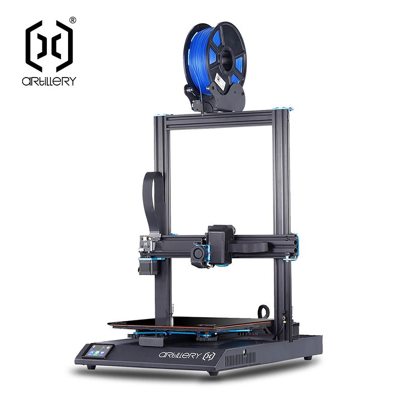 HPP US $399.98 Artillery 3D Printer Sidewinder X1 SW-X1 High Precision Large Plus Size 300*300*400mm 3d printer Dual Z axis TFT Touch Screen