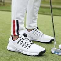 2019 nuevo zapato de Golf impermeable para hombre