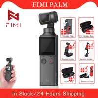 Stabilisateur de caméra à cardan tenu dans la main FIMI PALM 3 axes 4K UHD 128 degrés grand Angle Original FIMI accessoires de caméra de poche cadeau