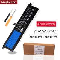 Kingsener 7.6V 5230mAh nouveau batterie d'ordinateur portable R13B01W R13B02W pour tablette Xiao mi Air 13.3
