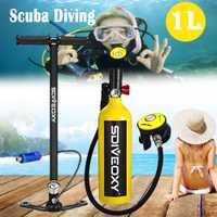 Equipo de Buceo sdiveoxy respirador portátil snorkel deportes acuáticos equipo snorkel Sambo tanque de oxígeno de repuesto