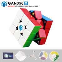 Nouveau GAN356 X magnétique magique vitesse cube professionnel 356X aimants puzzle cubo magico gan 356 X jouets éducatifs pour enfants