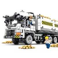 701704 diy rompecabezas bloques de construcción popular rompecabezas bloque de transporte Venta caliente alta calidad educativo para niños juguetes de niño