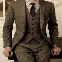 Costume de mariage 3 photos costume formel homme robes sur mesure modèles terno masculino marraige costumes pour hommes silim traje hombre