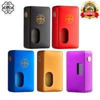 Cigarette électronique originale Dotmod Dot Mod Squonk 100w Mod 8ml capacité adaptée 18650 20700 21700 batterie mode de dérivation et courbe