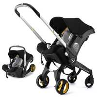 Poussette bébé 4 en 1 systèmes de voyage poussette bébé pliable Portable Jogging poussette nouveau-né landau
