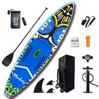 FunWater 11 'SUP Inflable Stand Up Paddle Board con accesorios bolsa de transporte aletas inferiores para Remo Surf Control antideslizante cubierta