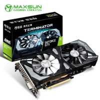 Maxsun GeForce GTX 1660 6G tarjeta gráfica Nvidia GDDR5 GPU de Video tarjeta de video para PC