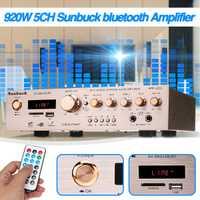 Amplificador envolvente AV estéreo HiFi 920W 220V 5CH FM Karaoke cine Home Theater amplificadores