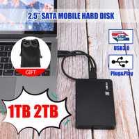 2.5 disque dur Mobile USB3.0 SATA3.0 1 to 2 to HDD disco duro externo disques durs externes pour ordinateur portable/Mac/Xb