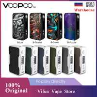 Original VOOPOO glisser 2 177W TC boîte MOD E-cigarette et 157W glisser boîte Mod w/US gène puce pas 18650 batterie Vape boîte Mod vs LUXE/GEN