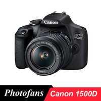 Appareil photo reflex numérique Canon 1500D/2000D/rebelle T7 avec objectif 18-55mm-24MP-vidéo-caméra canon WiFi